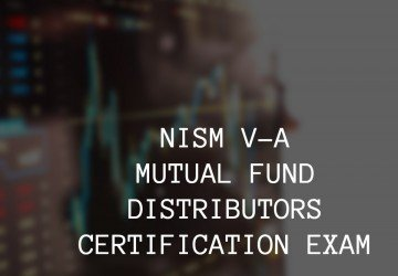 nism v-a mutual fund distributors certification exam