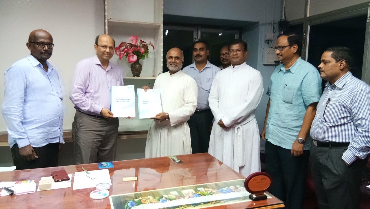cpbfi mou with Andhra Loyola college Vijayawada